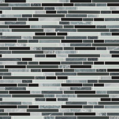 Shaw Floors Toll Brothers Ceramics Awesome Mix Random Linear Mosi Midnight 00159_TL63B