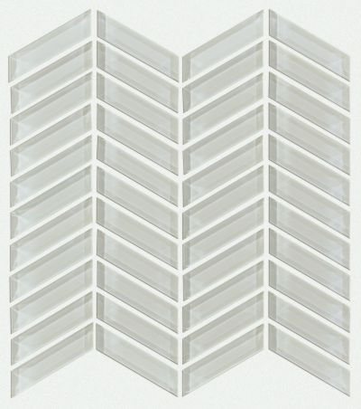Shaw Floors Toll Brothers Ceramics Principal Chevron Glass Mo Mist 00250_TL78B
