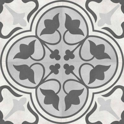 Casa Roma ® Geoshapes Ice (8×8 Clover Deco) CAS60313