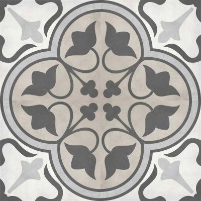 Casa Roma ® Geoshapes Sand (8×8 Clover Deco) CAS60320
