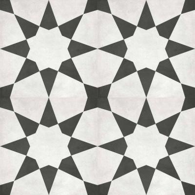Casa Roma ® Geoshapes Stellar (8×8 Monochrome Deco) CAS60335