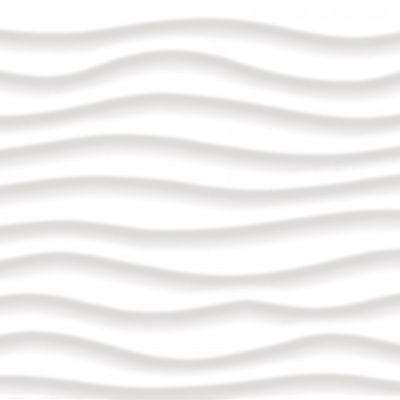 Casa Roma ® Illusione White Oblique (12×24 Wall tile Glossy) CAS69983