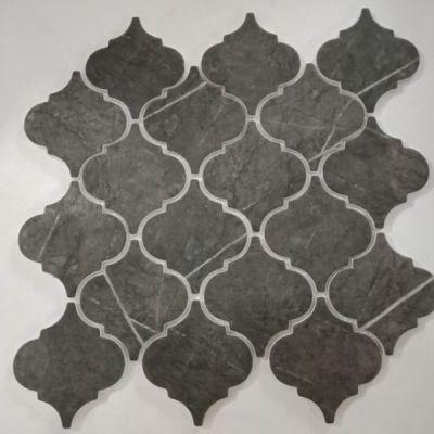 Casa Roma ® Arabesco Pietra Grey (3×3 Mosaic) CASAB03