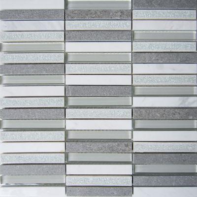 Casa Roma ® Glacier Glass White (12″x11.75″ Stacked) CASGBS24C