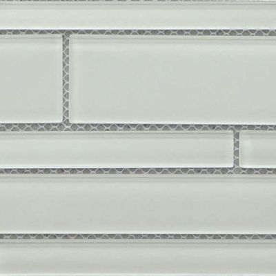 Casa Roma ® Glass Vogue Puff (6″x18″ Random Strip) CASGWR02RB