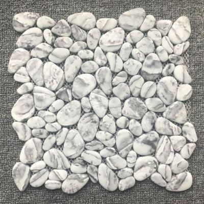 Casa Roma ® Shapes Tundra Grey (8mm Pebble Mosaic Matte) CASJS03PB