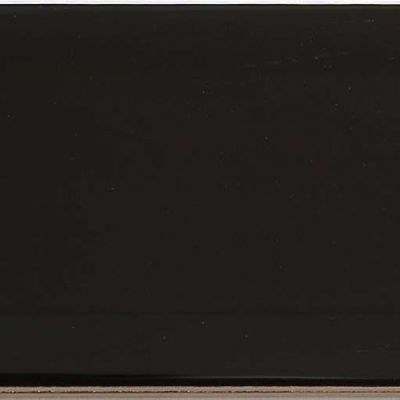Casa Roma ® Wall Classics Black (3×12 Bevel Glossy Pressed) CASMDC05312BE