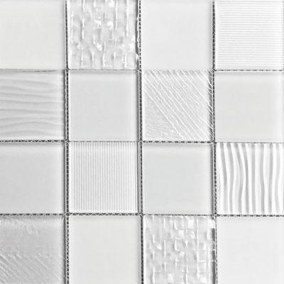 Casa Roma ® Glass Blox Frost (3″x3″ Mosaic) CASMG0133MC