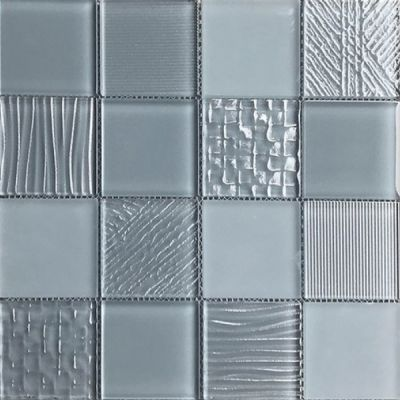 Casa Roma ® Glass Blox Battleship (3″x3″ Mosaic) CASMG07133MC