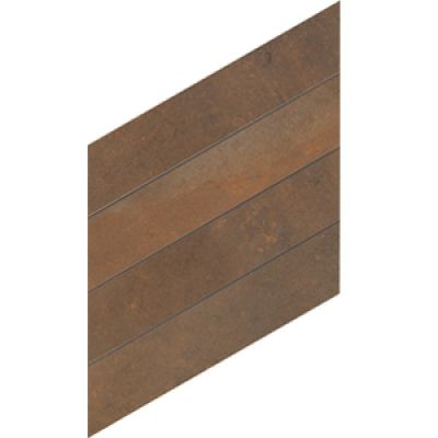 "Casa Roma ® Metaline Corten Thorn Mosaic (11.42""x13.39″) CASML02MN"