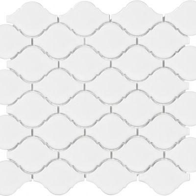 Casa Roma ® Wall Art White (Glossy Lantern Mosaic) SAN51040