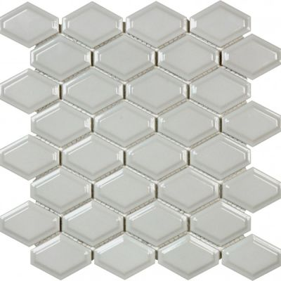Casa Roma ® Wall Art Warm Grey (Convex Diamond Glossy Mosaic) SAN51052