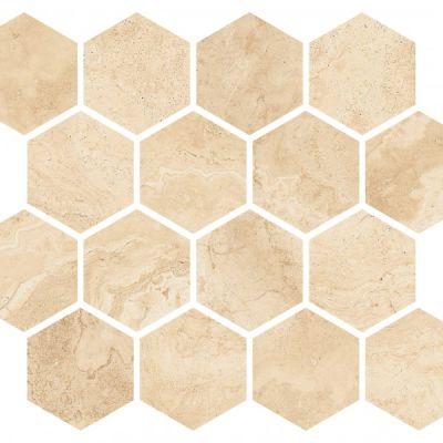 Casa Roma ® Royal Alabastrino Topaz (10×12 Soco Mosaic Honed Rectified) STOUSG10MSO225