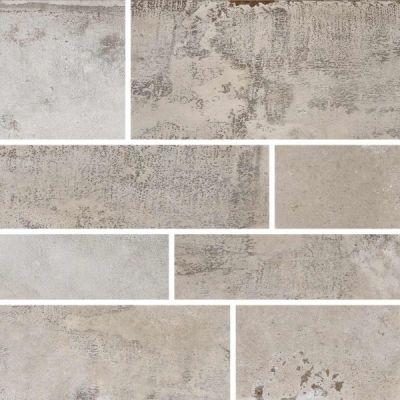 Casa Roma ® Stonecrete Sanded Cement (12×24 Design 6 Mosaic Honed Rectified) STOUSG124D6209