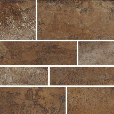 Casa Roma ® Stonecrete Smoldered Cement (12×24 Design 6 Mosaic Honed Rectified) STOUSG124D6211