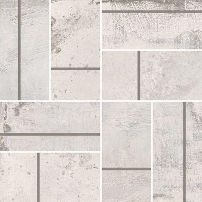 Casa Roma ® Stonecrete Salted Cement (3×6 Parquet Mosaic Honed Rectified) STOUSG12MP208