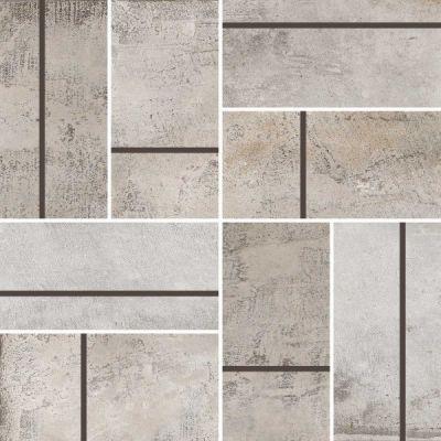 Casa Roma ® Stonecrete Sanded Cement (3×6 Parquet Mosaic Honed Rectified) STOUSG12MP209