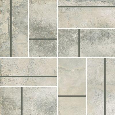 Casa Roma ® Stonecrete Smoked Cement (3×6 Parquet Mosaic Honed Rectified) STOUSG12MP210