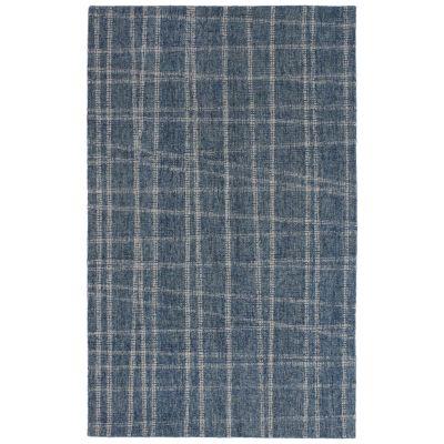 Liora Manne Savannah Mad Plaid Blue 3'6″ x 5'6″ SVH46950603