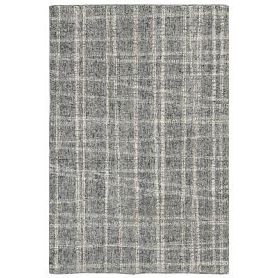 Liora Manne Savannah Mad Plaid Grey 5'0″ x 7'6″ SVH57950619