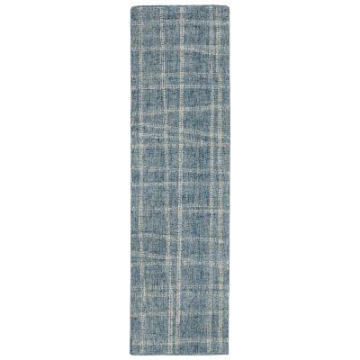 Liora Manne Savannah Mad Plaid Blue 2'0″ x 7'6″ SVHR8950603