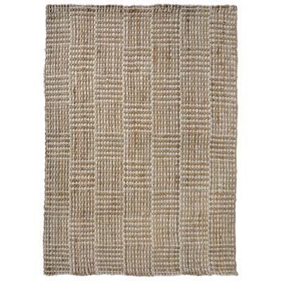 Liora Manne Terra Squares Natural 7'6″ x 9'6″ TEA71676212