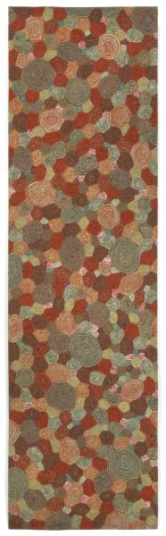 Liora Manne Visions III Contemporary Red 2'3″ x 8'0″ VEBR8310224