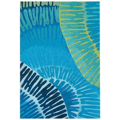 Liora Manne Visions Iv Contemporary Blue 2'0″ x 3'0″ VGH23430204