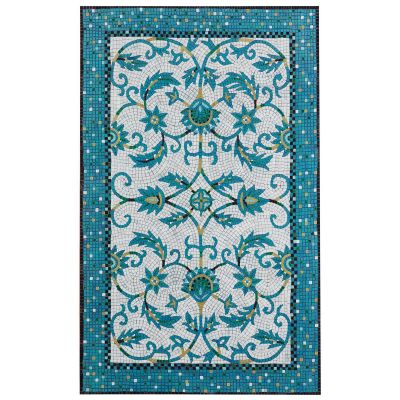 Liora Manne Visions Iv Transitioanl Blue 5'0″ x 8'0″ VGH58430903