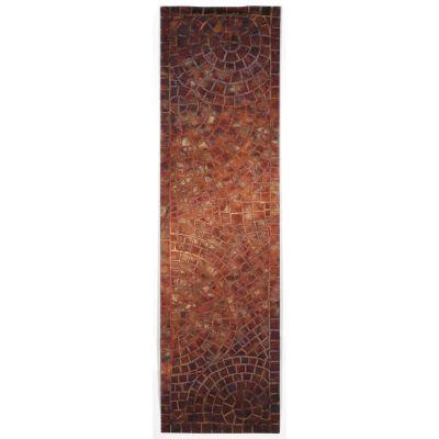 Liora Manne Visions V Contemporary Red 2'3″ x 8'0″ VHIR8325724