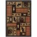 Oriental Weavers Hudson 1067a Brown Collection